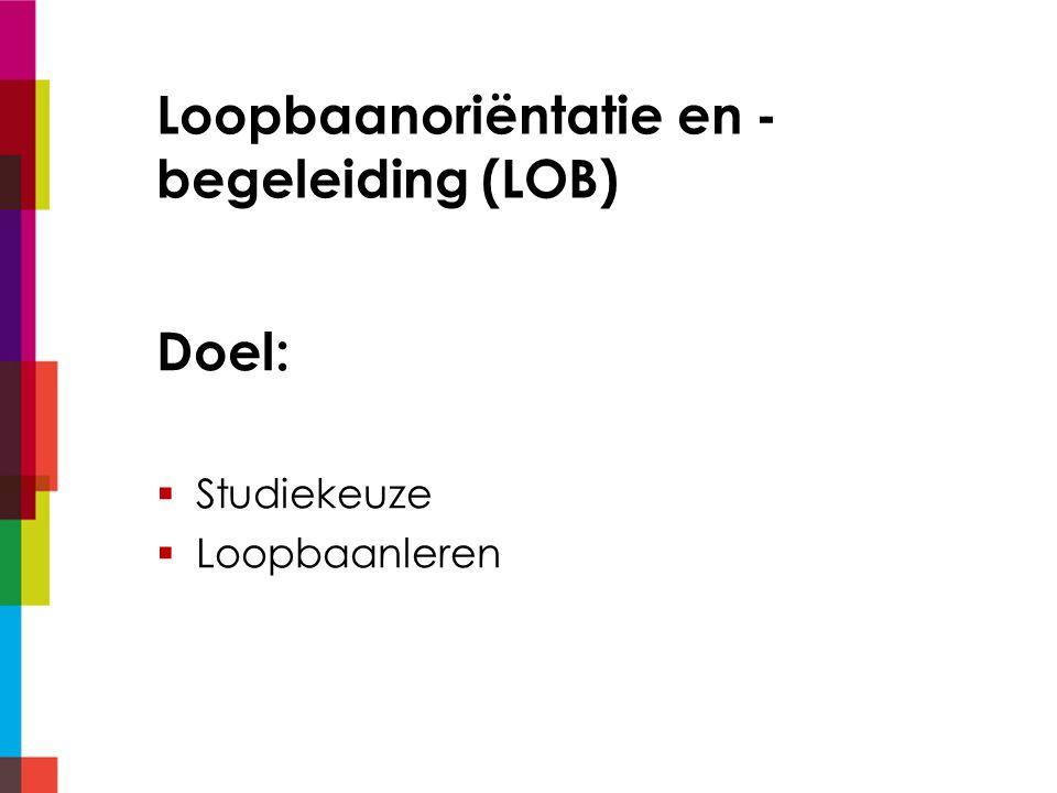 Loopbaanoriëntatie en -begeleiding (LOB)