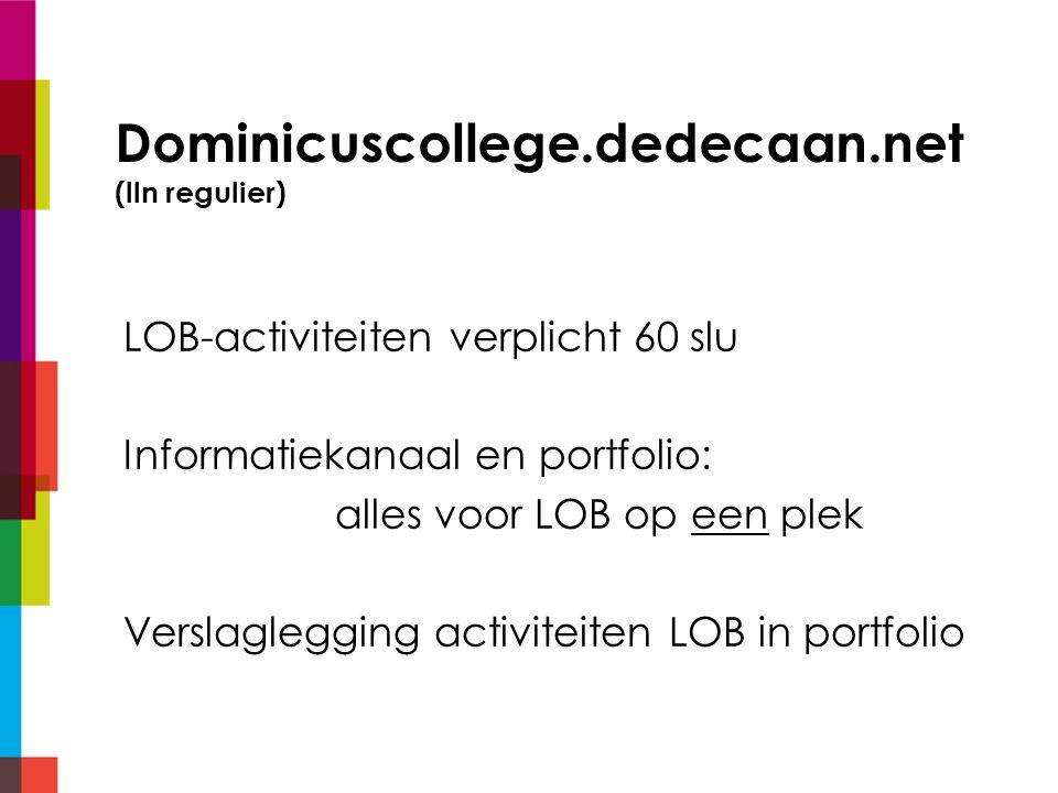 Dominicuscollege.dedecaan.net (lln regulier)