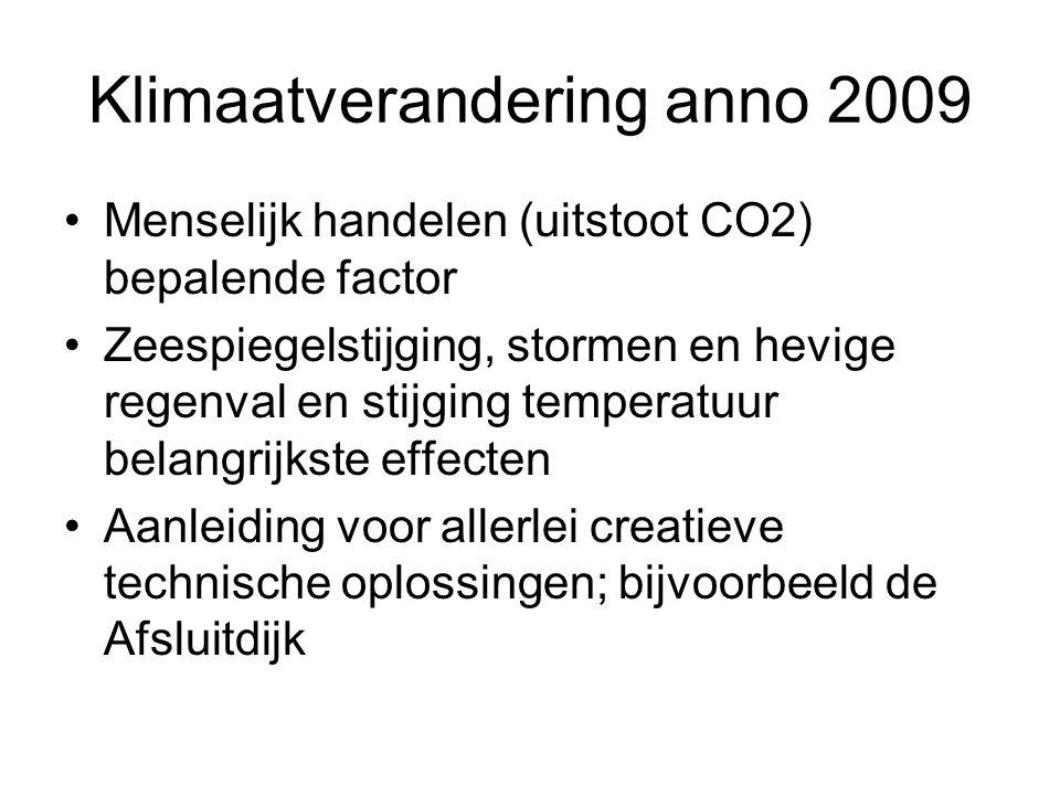 Klimaatverandering anno 2009
