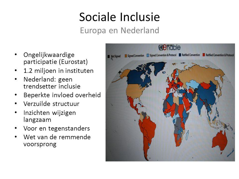 Sociale Inclusie Europa en Nederland