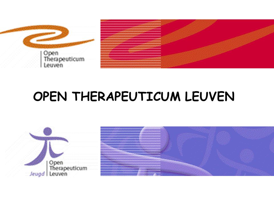 OPEN THERAPEUTICUM LEUVEN