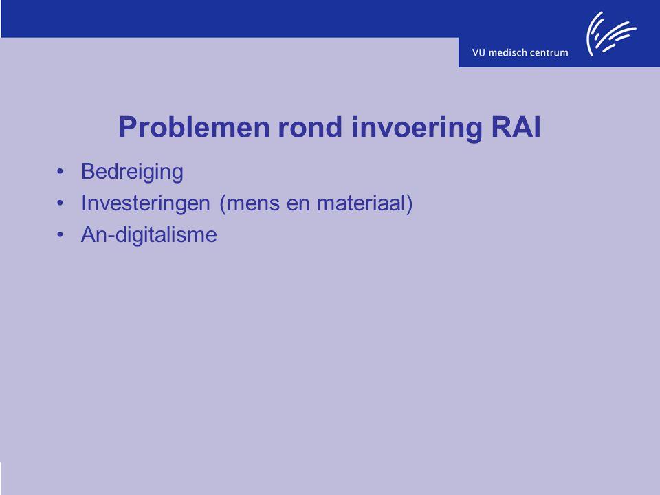 Problemen rond invoering RAI