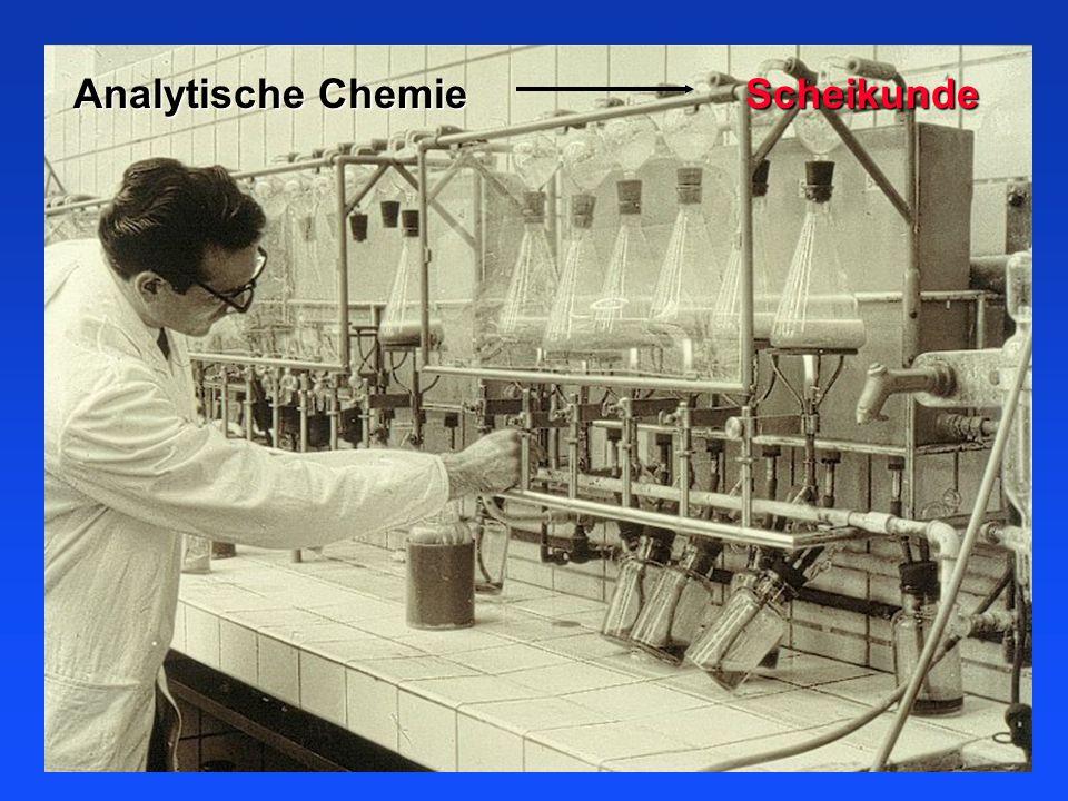 Analytische Chemie Scheikunde