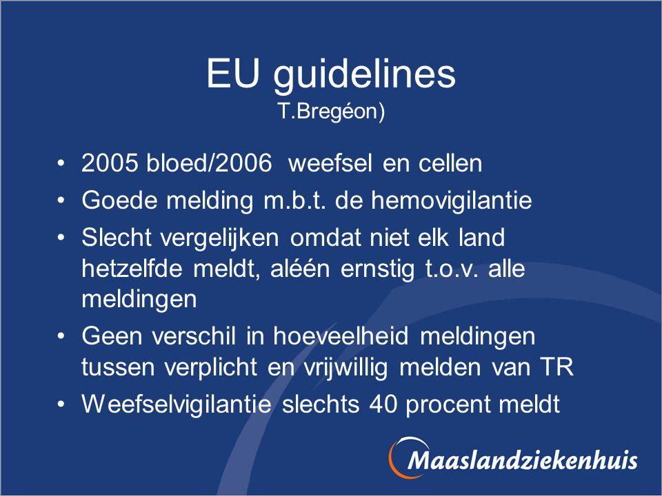 EU guidelines T.Bregéon)