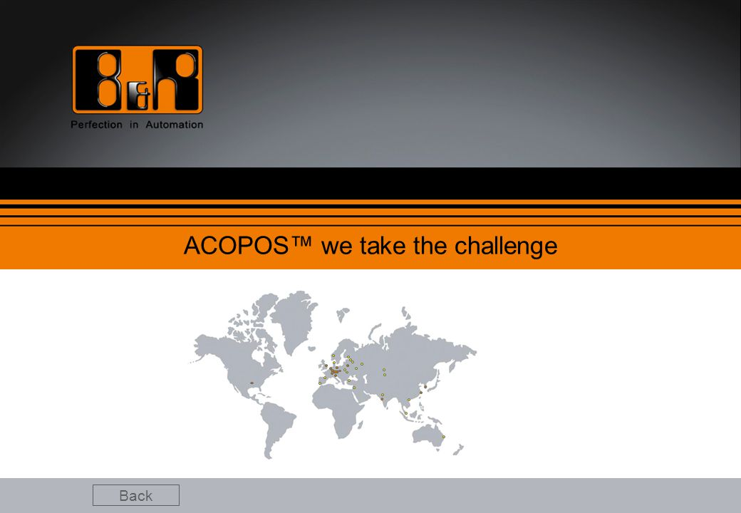 ACOPOS™ we take the challenge