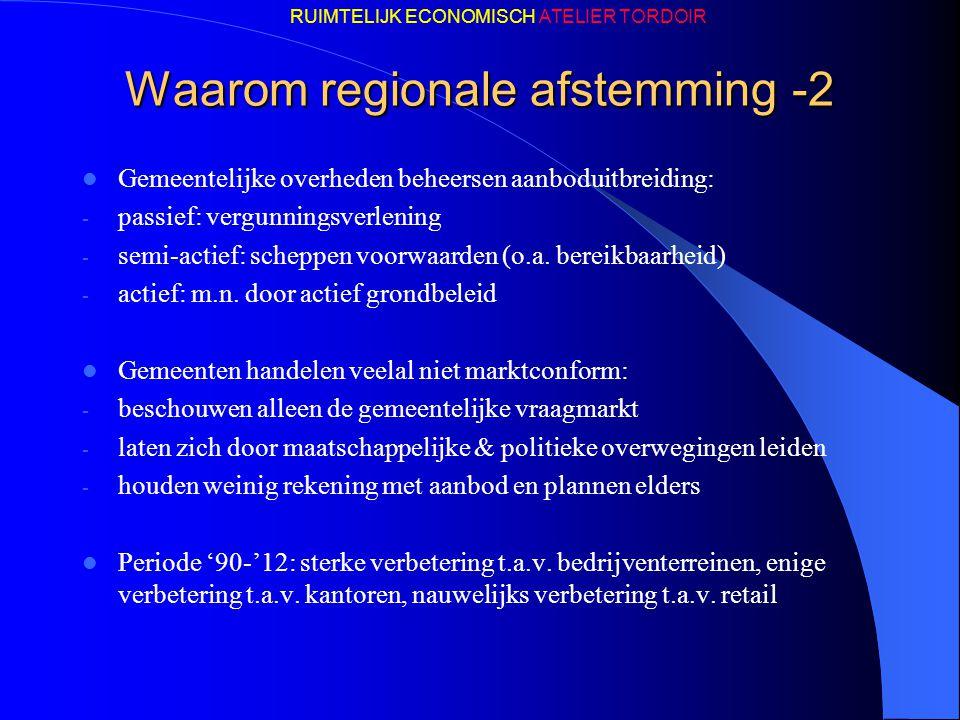 Waarom regionale afstemming -2