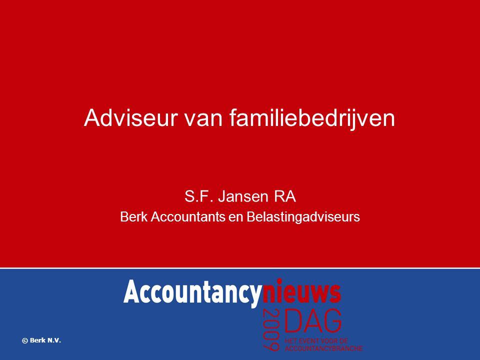 Adviseur van familiebedrijven