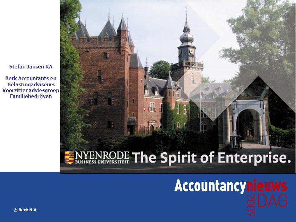 Berk Accountants en Belastingadviseurs Voorzitter adviesgroep