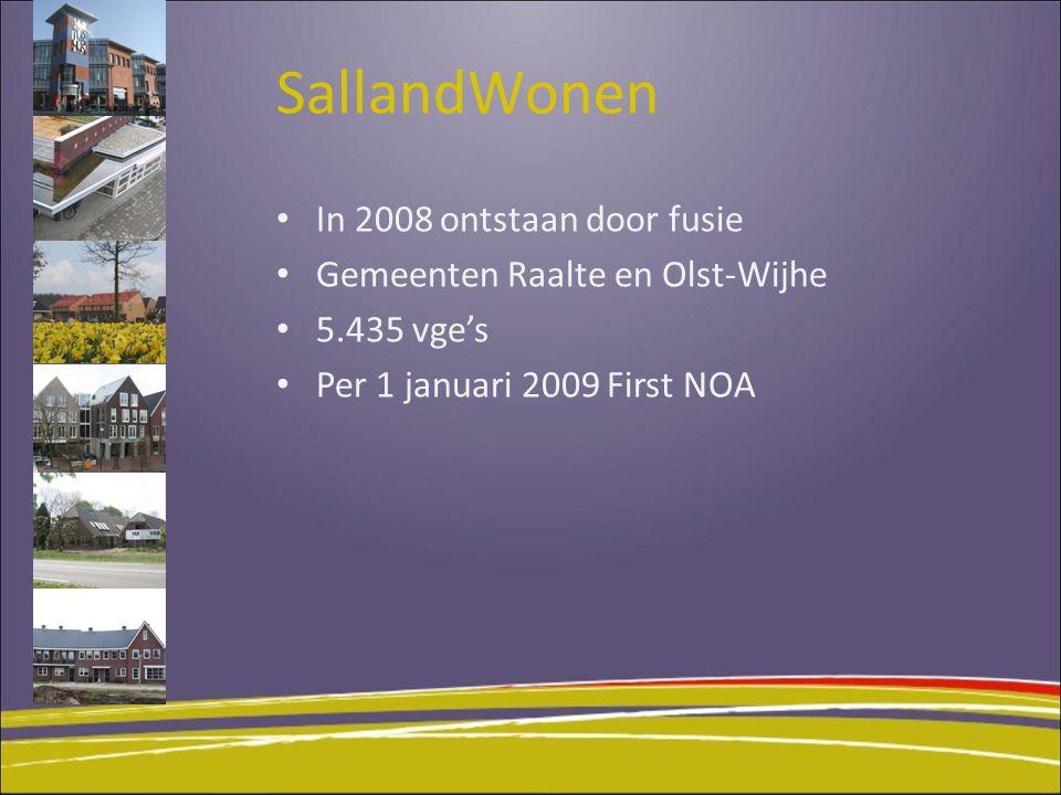 SallandWonen In 2008 ontstaan door fusie