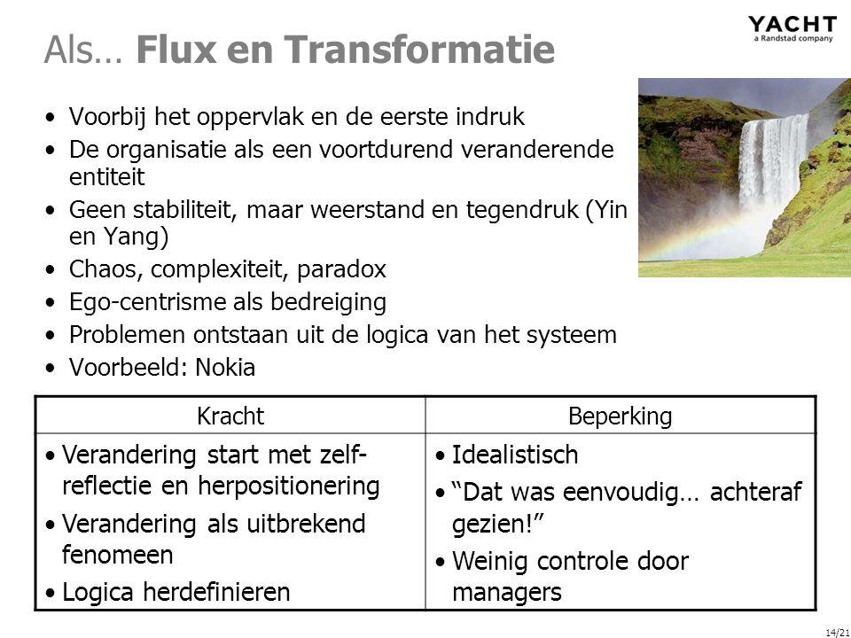 Als… Flux en Transformatie