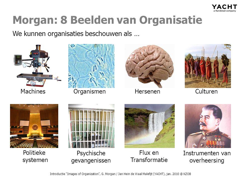 Morgan: 8 Beelden van Organisatie