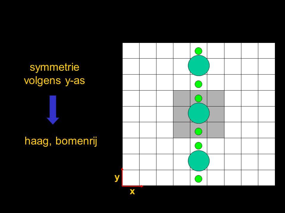symmetrie volgens y-as