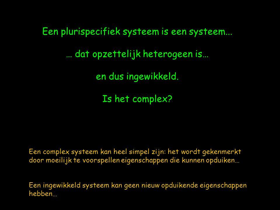 Een plurispecifiek systeem is een systeem