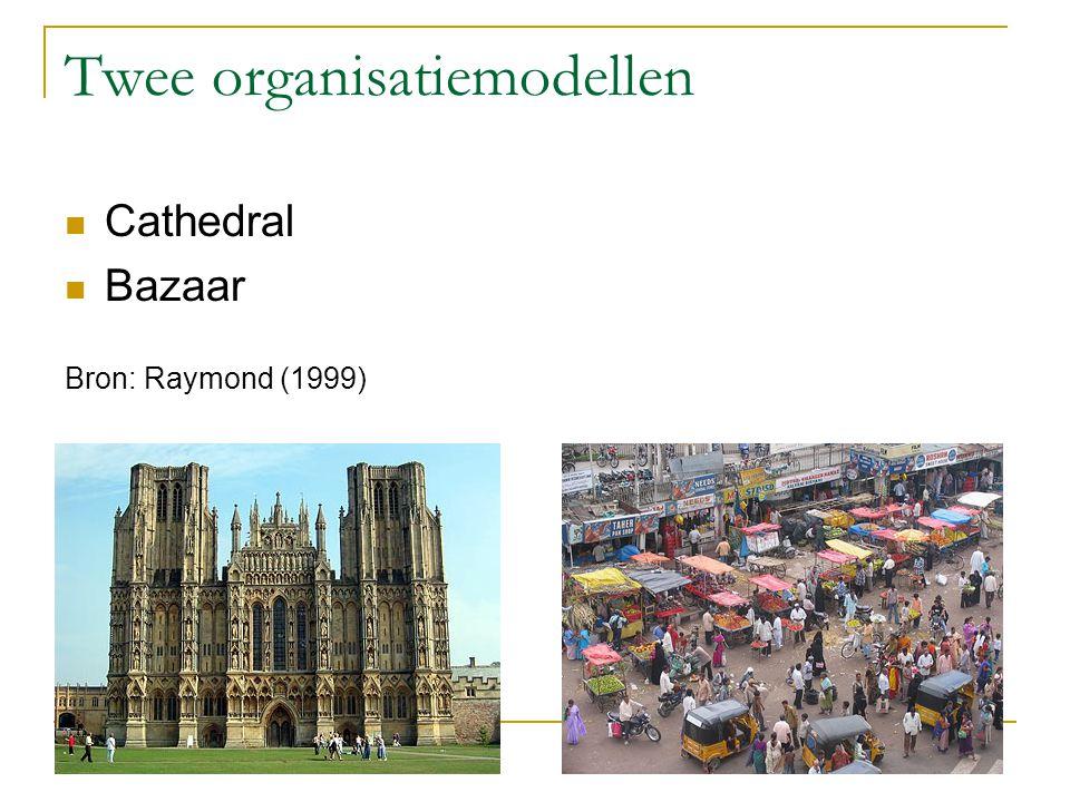 Twee organisatiemodellen