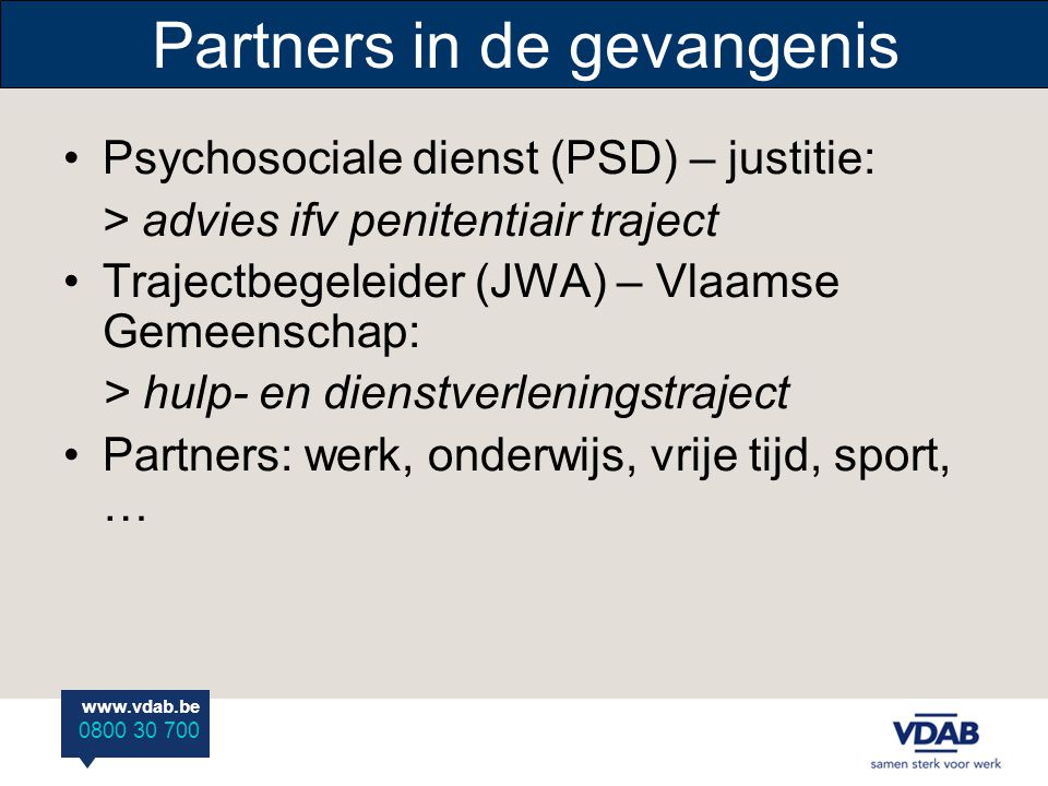 Partners in de gevangenis