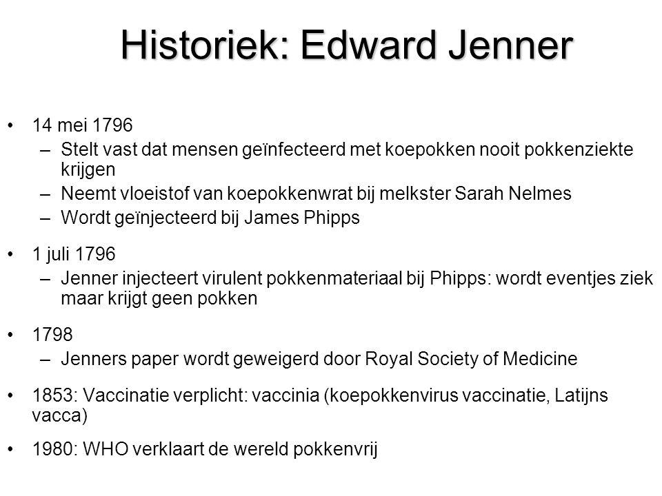 Historiek: Edward Jenner
