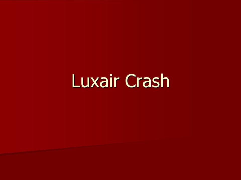 Luxair Crash