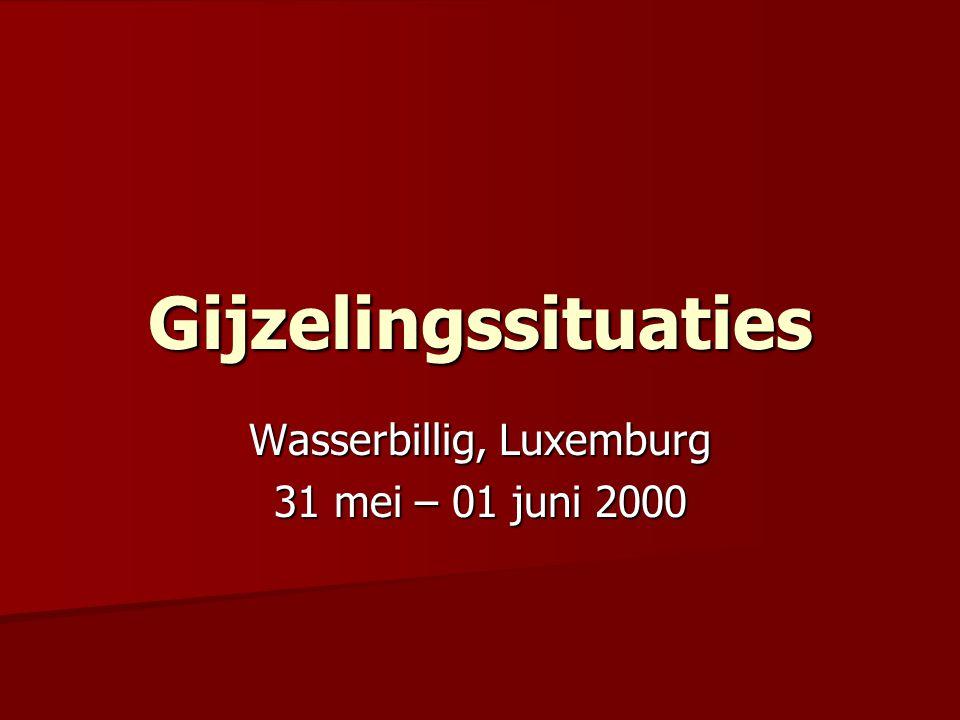Wasserbillig, Luxemburg 31 mei – 01 juni 2000