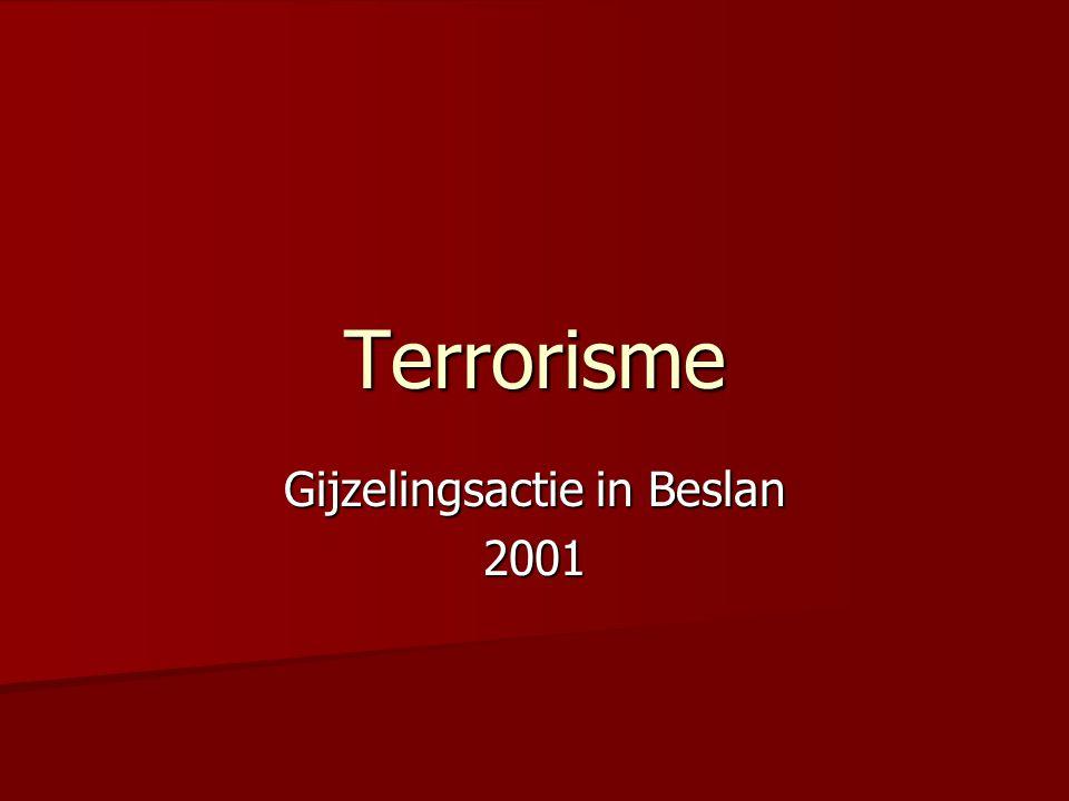 Gijzelingsactie in Beslan 2001