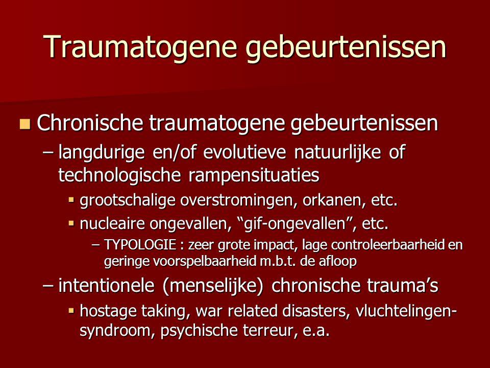 Traumatogene gebeurtenissen