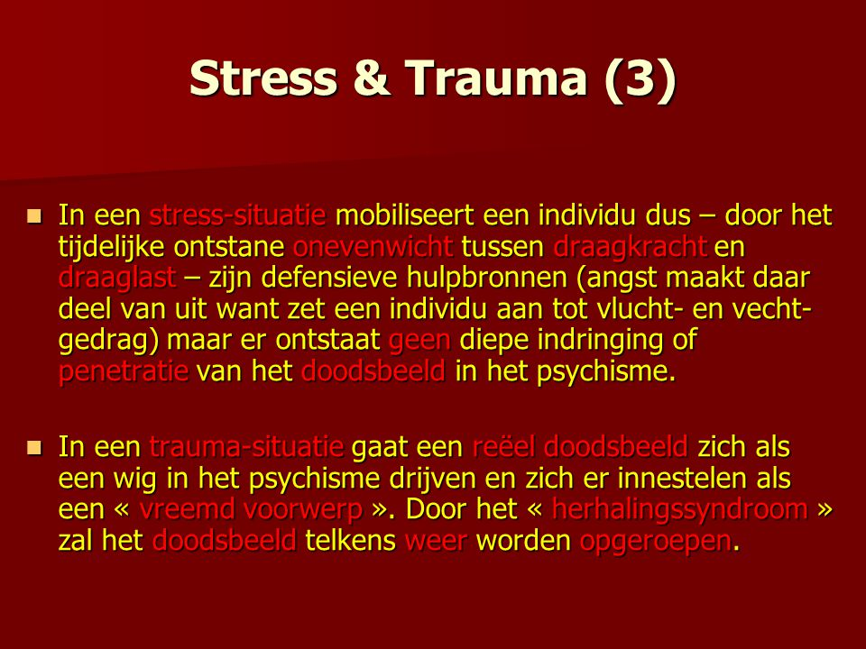 Stress & Trauma (3)