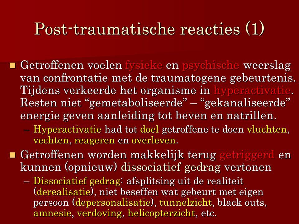 Post-traumatische reacties (1)