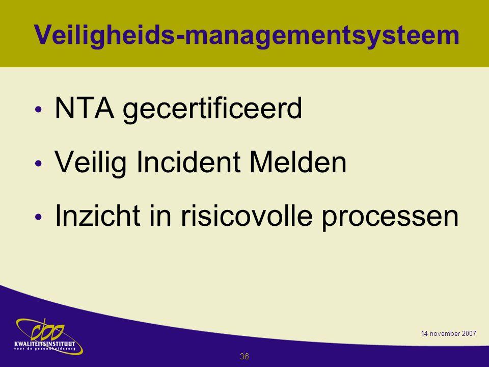 Veiligheids-managementsysteem