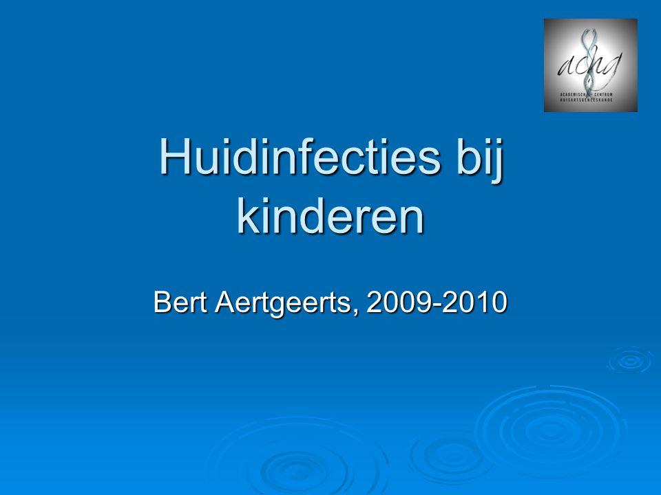 Huidinfecties bij kinderen