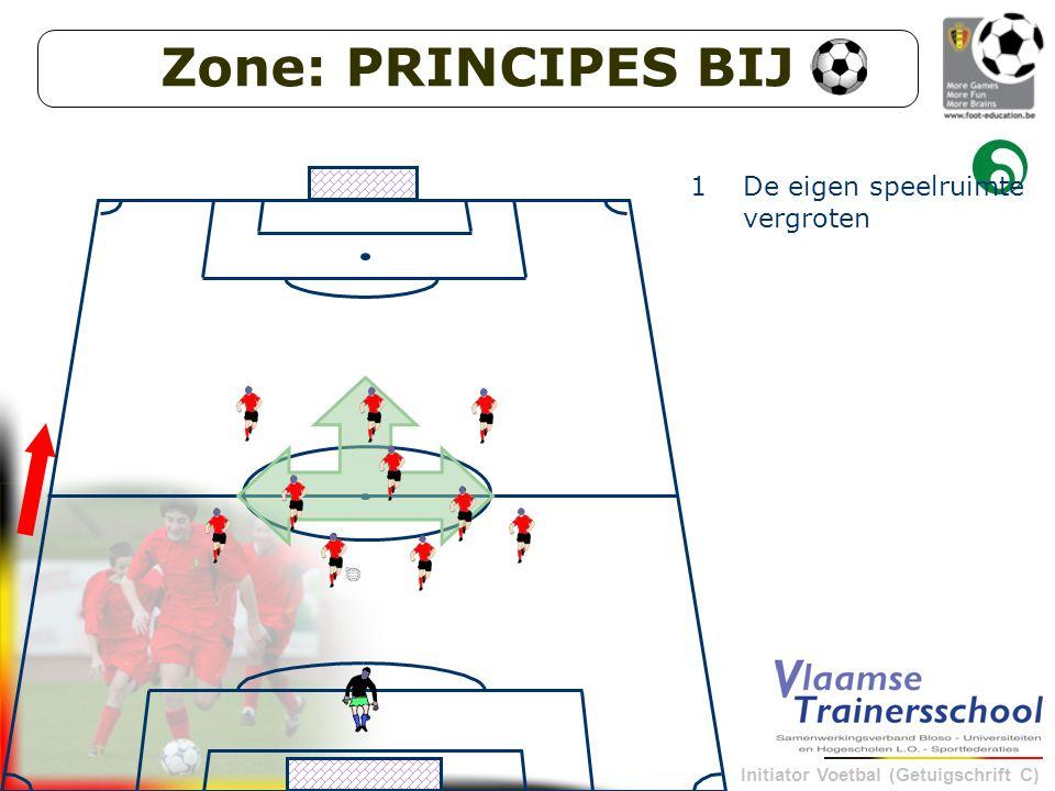 Zone: PRINCIPES BIJ De eigen speelruimte vergroten