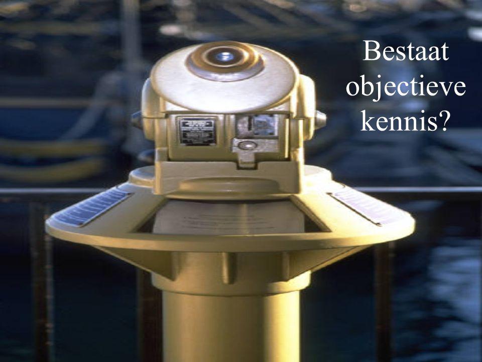 Bestaat objectieve kennis