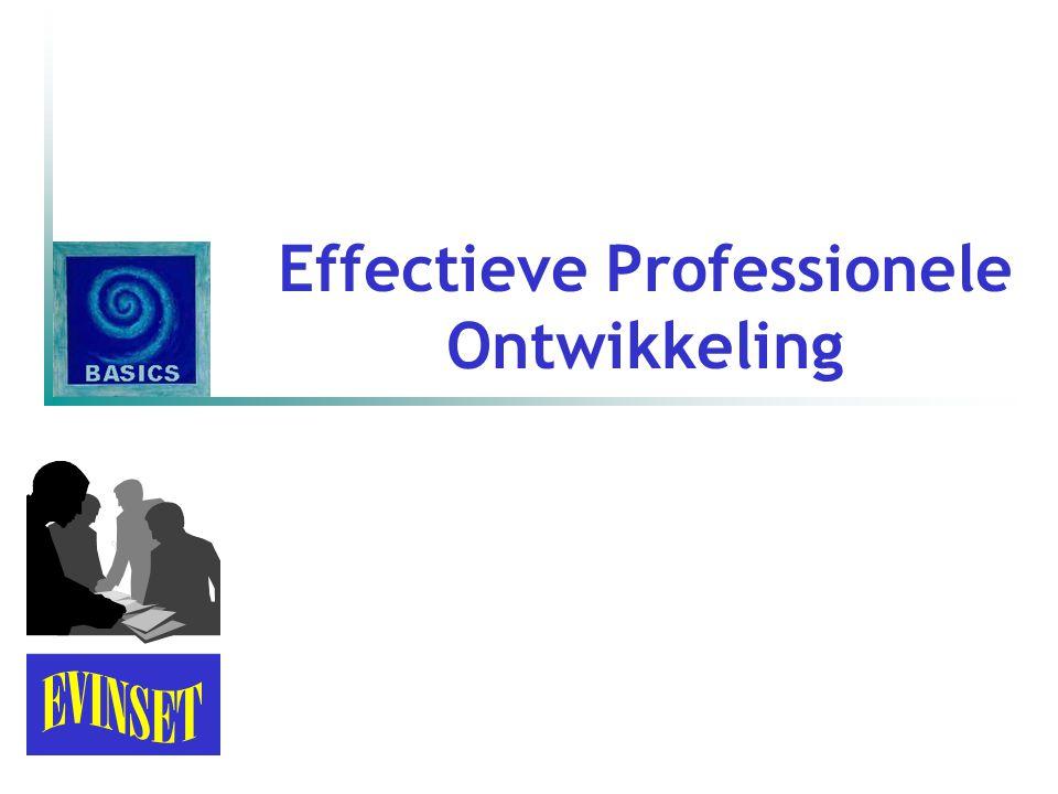 Effectieve Professionele Ontwikkeling