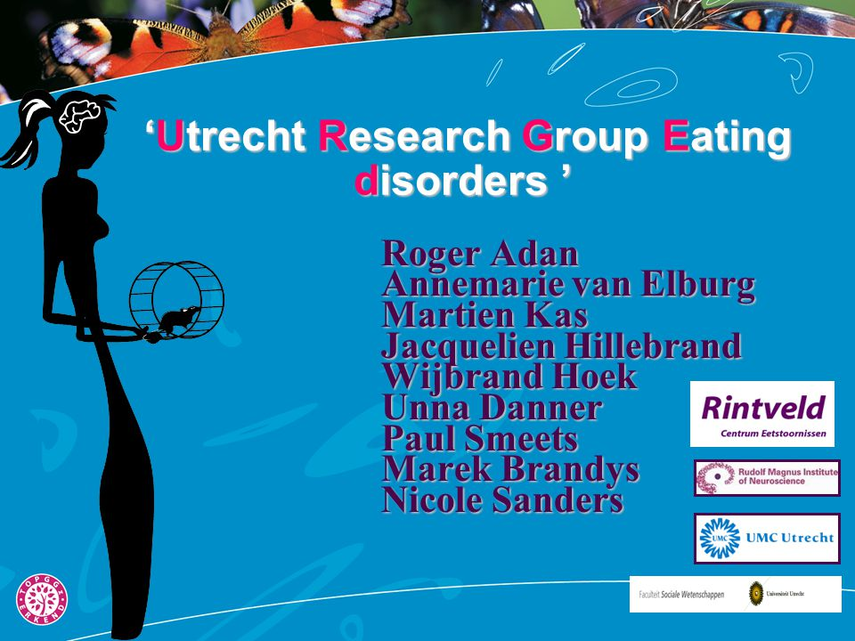 'Utrecht Research Group Eating disorders '