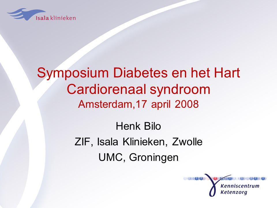 Henk Bilo ZIF, Isala Klinieken, Zwolle UMC, Groningen
