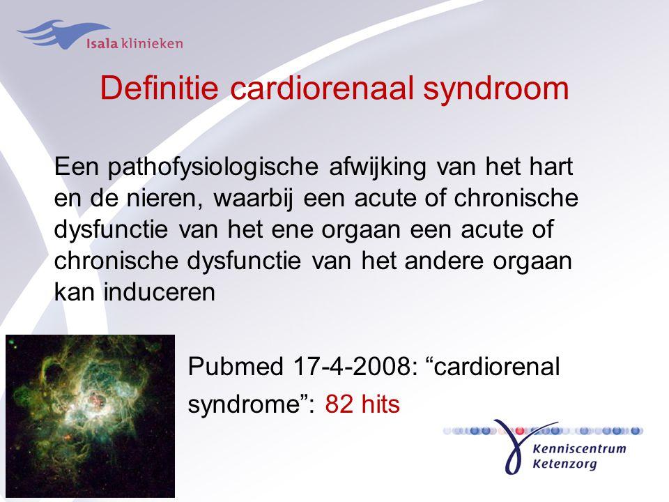 Definitie cardiorenaal syndroom