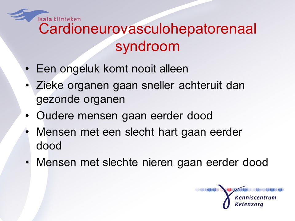 Cardioneurovasculohepatorenaal syndroom