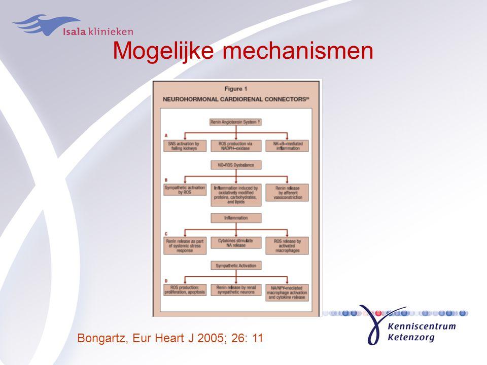 Mogelijke mechanismen