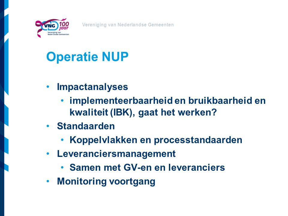 Operatie NUP Impactanalyses