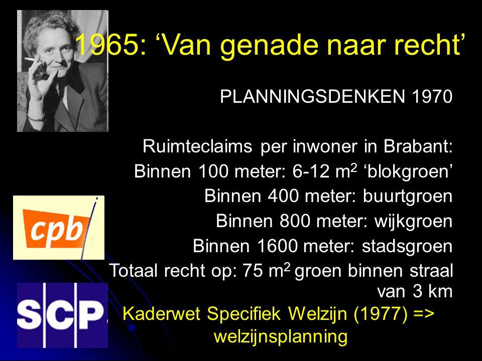 1965: 'Van genade naar recht'