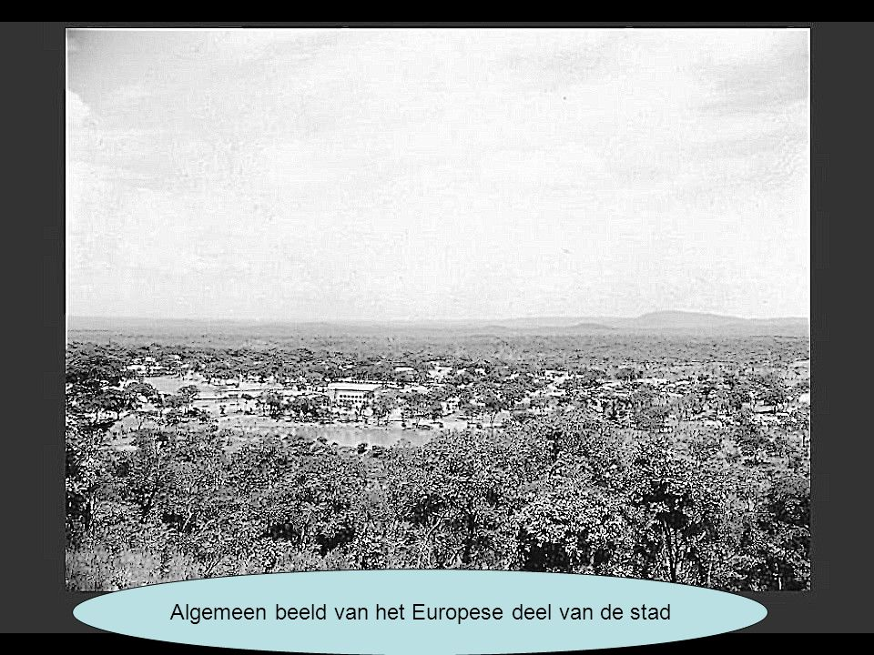 Algemeen beeld van het Europese deel van de stad