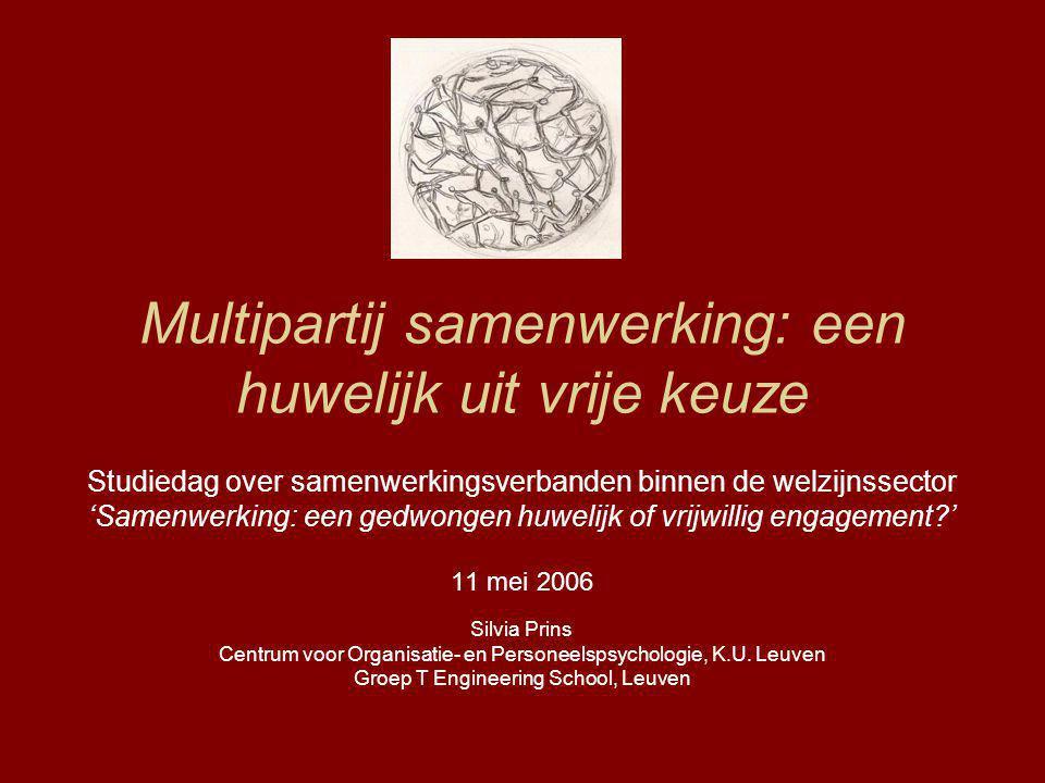 Multipartij samenwerking: een huwelijk uit vrije keuze