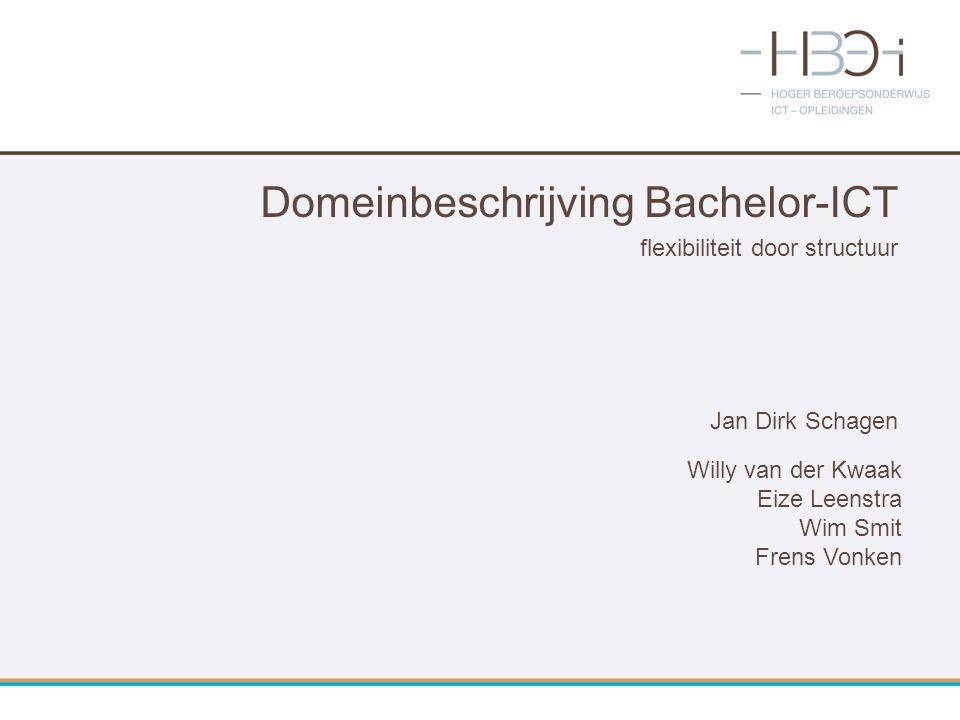 Domeinbeschrijving Bachelor-ICT