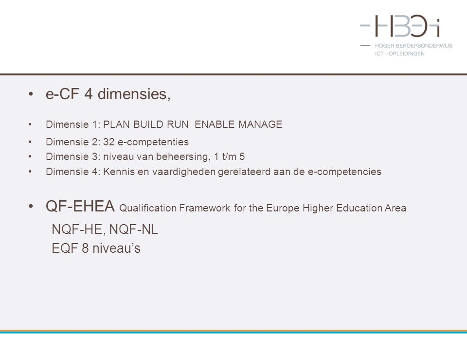 QF-EHEA Qualification Framework for the Europe Higher Education Area