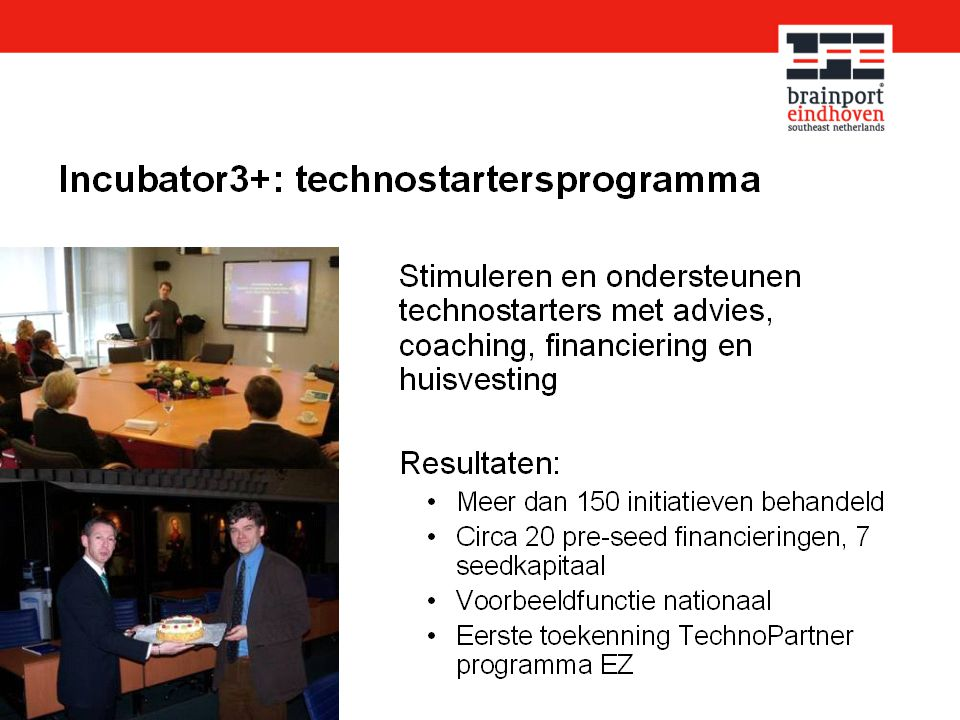 Er is ook en technostarters programma
