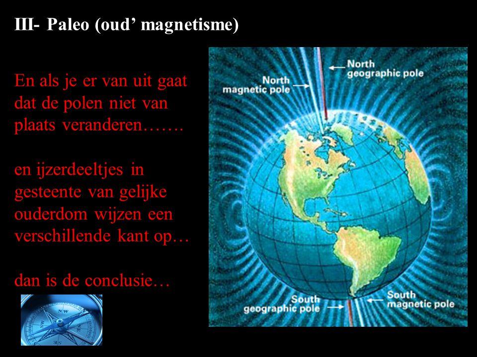 III- Paleo (oud' magnetisme)