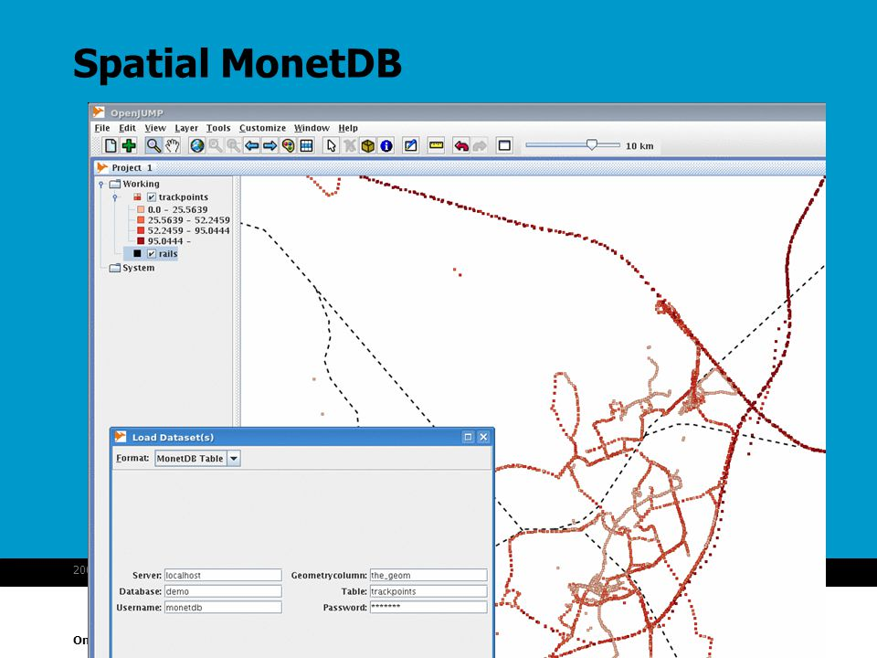 Spatial MonetDB 2007-10-16 MonetDB spatial