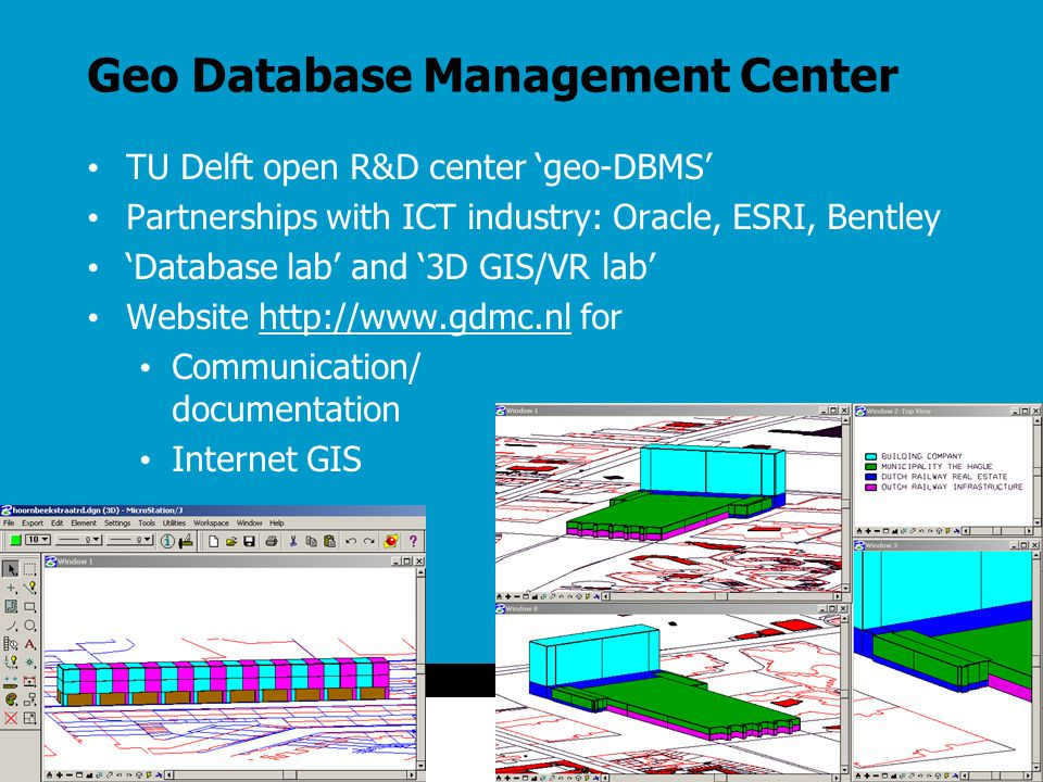 Geo Database Management Center