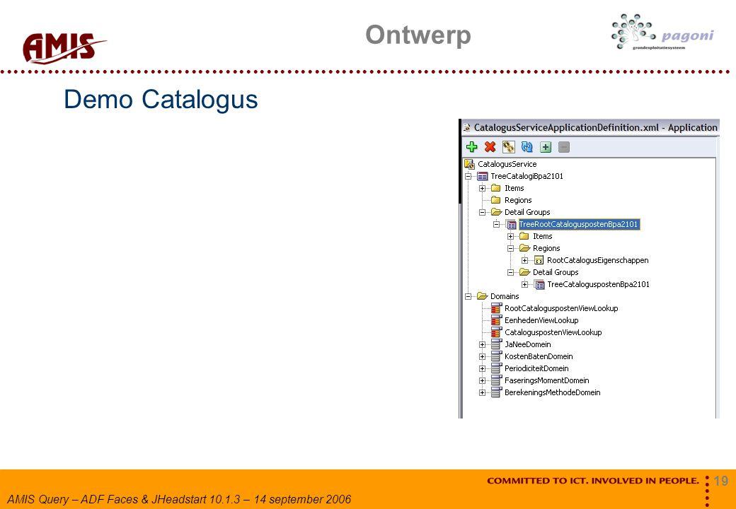 Ontwerp Demo Catalogus