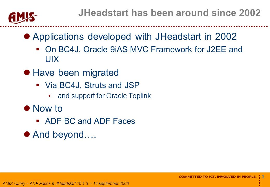 JHeadstart has been around since 2002