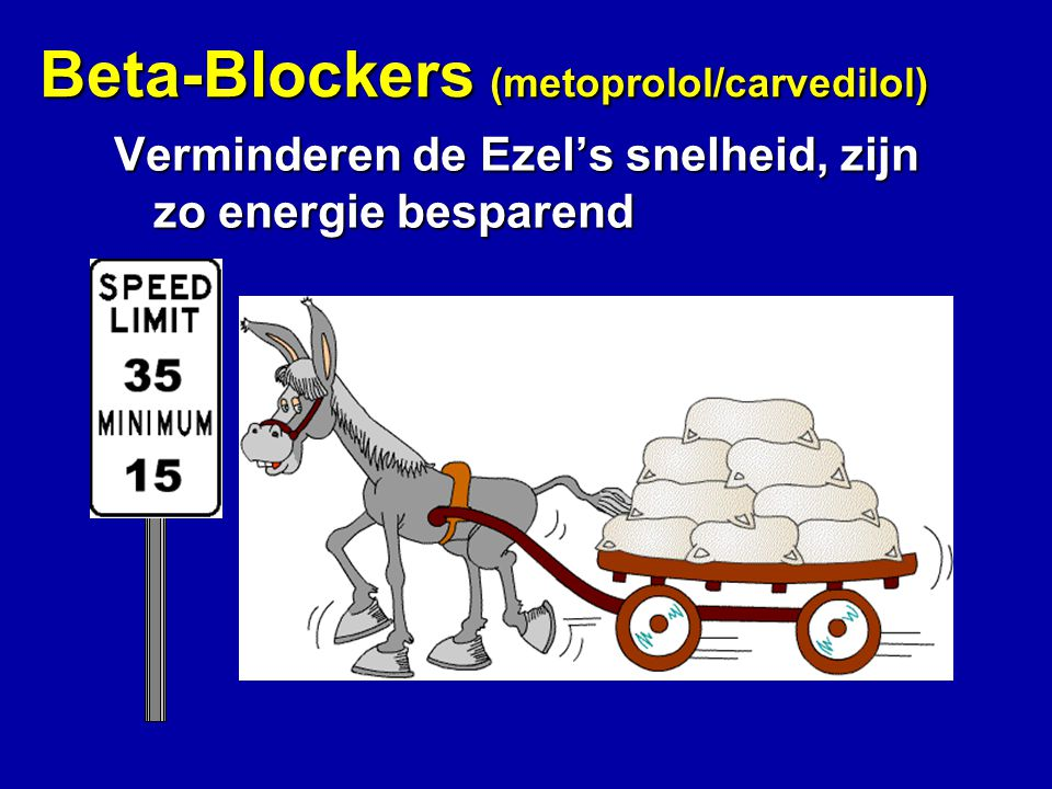Beta-Blockers (metoprolol/carvedilol)