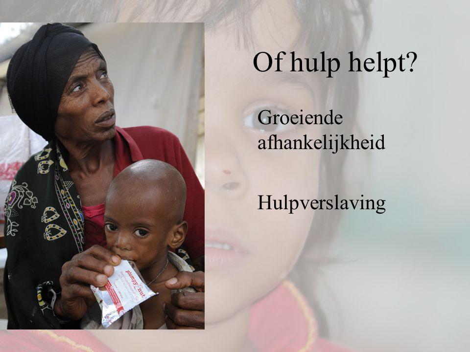 Of hulp helpt Groeiende afhankelijkheid Hulpverslaving